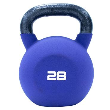 Neoprene Covered Kettlebell 28kg Purple