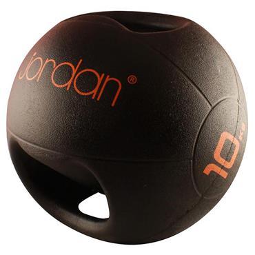 Jordan Double Grip Medicine Ball | 10kg (Orange)