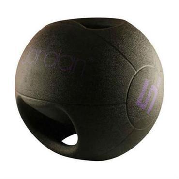 Jordan Double Grip Medicine Ball | 5kg (Mauve)