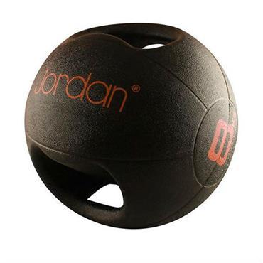 Jordan Double Grip Medicine Ball | 8kg (Red)