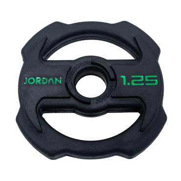Jordan Ignite V2 Rubber Studio Barbell Plate | 1.25kg