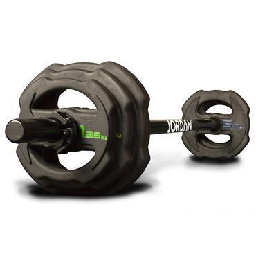 Jordan Fitness Ignite V2 Rubber Studio Barbell Set