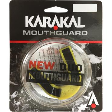 Karakal Gumshield - Senior - Black/Yellow