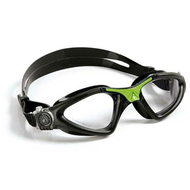 AquaSphere Kayenne Adult Goggle | Black/Green