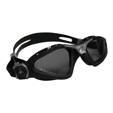 AquaSphere Kayenne Adult Goggle Dark Lens | Black/Silver