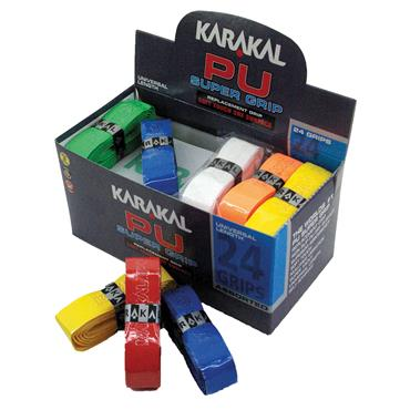 Karakal PU Super Grip - Assorted Colours (Box of 24)