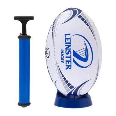 Leinster Rugby Gift Set | Ball, Pump, Kicking Tee
