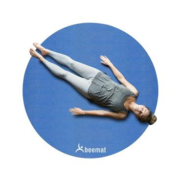 Circular Yoga Mat | 6mm (Royal Blue)