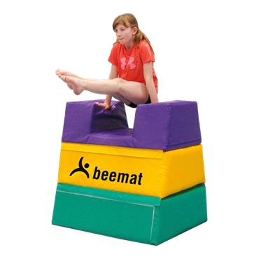 Beemat Development Foam Vaulting Box - (3 Section)