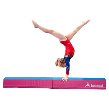 Beemat Foldable Balance Beam & Mat | Purple & Pink (Value Pack)