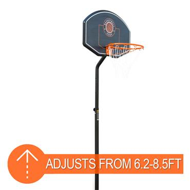 Junior Adjustable Basketball Unit | Goose Neck