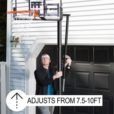 Hit Sport Premium Adjustable Basketball System