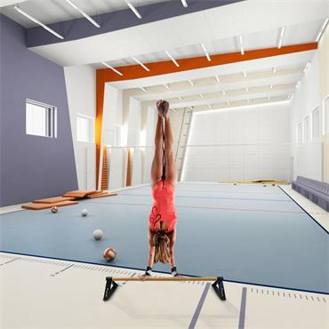 Beemat Gymnastic Floor Bar