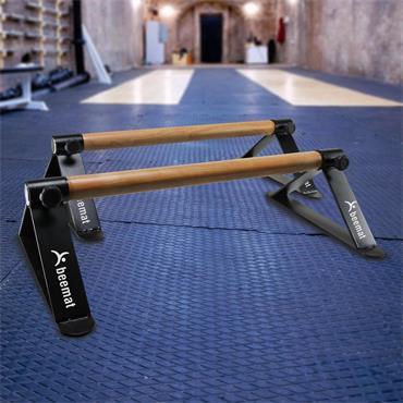 Beemat Gymnastic Parallette Bars (2 Pack)