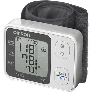 Omron RS3 Wrist Blood Pressure Monitor