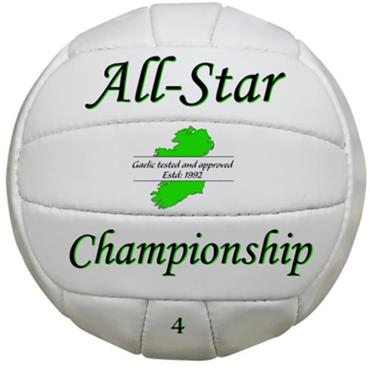 All Star GAA Training Ball
