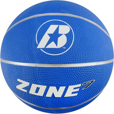 Baden Zone Rubber Coloured Basketballs (Blue) | Size 7