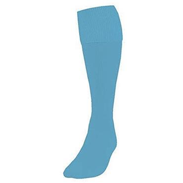 Precision Plain Football Socks | Sky Blue