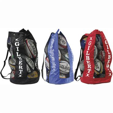 Gilbert Rugby Breathable Ball Bag