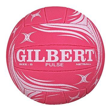Gilbert Pulse Match Netball | Pink