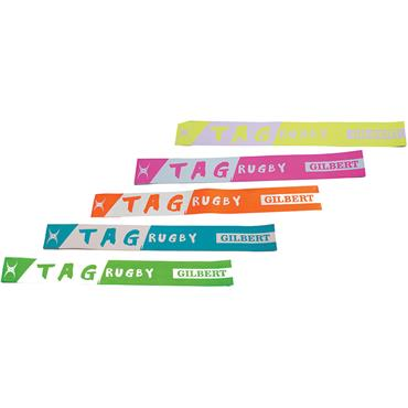 Gilbert Rugby Fizz Coloured Tag Belts