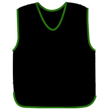 Precision Mesh Training Bib | (Black)