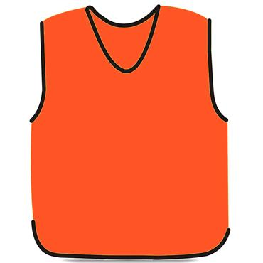 Precision Mesh Training Bib | (Orange)