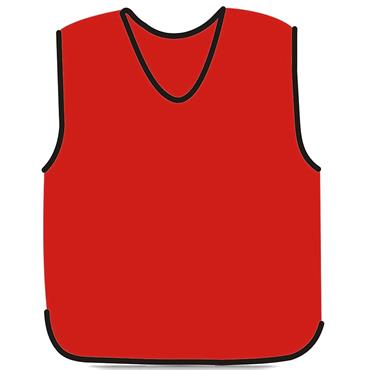 Precision Mesh Training Bib | (Red)