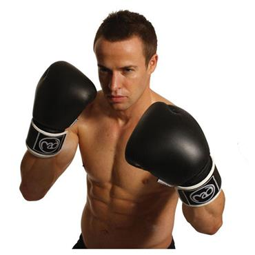 Fitness-Mad Pro Leather Sparring Gloves