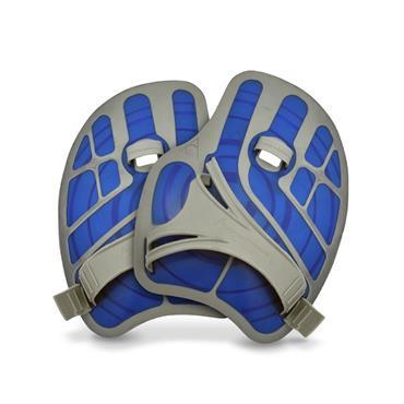 AquaSphere ErgoFlex Handpaddle | Blue/Grey