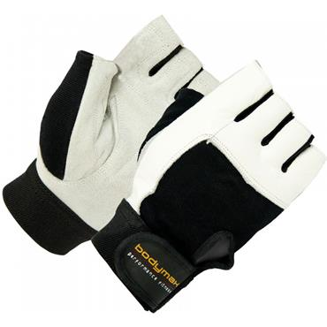 Bodymax Suede Weight Lifting Gloves
