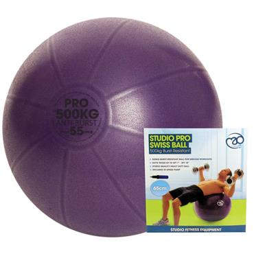 Fitness-Mad Studio Pro 500kg Anti Burst Swiss Ball with Pump