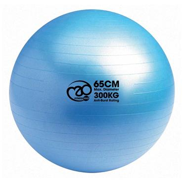 Fitness-Mad 300kg Anti Burst Swiss Ball, Online Workout & Pump