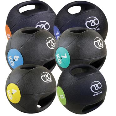 Fitness-Mad Double Grip Medicine Balls | (4kg - 10kg)
