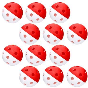 Eurohoc Floorball Precision Balls | (12 Pack)