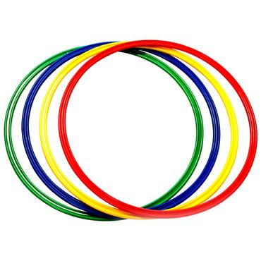 First-play Flat Hoops - Assorted (4 Pack)
