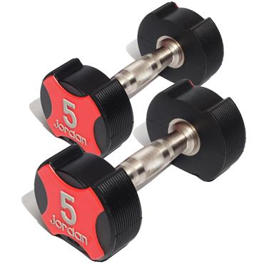 Jordan Ignite Urethane Dumbbells (Pair) | 2.5kg - 50kg