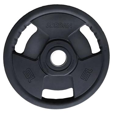 Jordan Fitness Classic Premium Rubber Olympic Weight Plate | 1.25kg-15kg