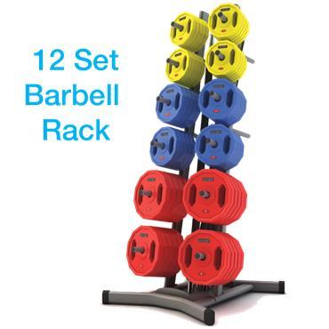 Jordan Studio Barbell Sets & Rack