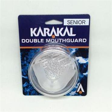 Karakal Double Gumshield | Clear