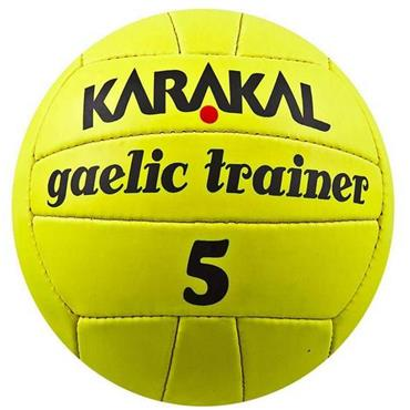 Karakal Gaelic Trainer Football (Yellow)