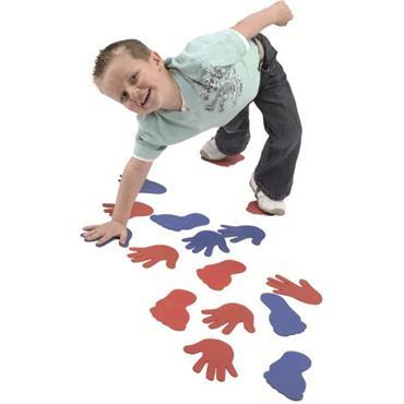 Tuftex Floor Marking Sets Hands And Feet