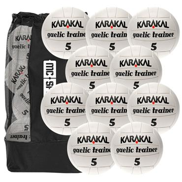 Karakal Gaelic Trainer Ball (10 pack) Size 4 & 5