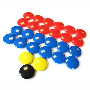 Spare Magnets for Tactic Board (Various Sizes)