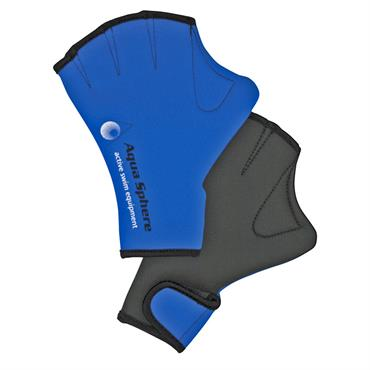 AquaSphere Swim Glove | Blue/Black