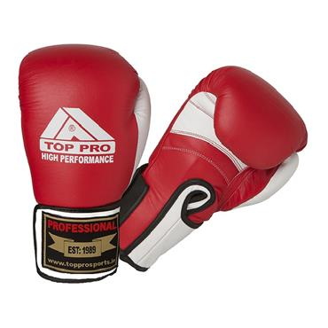 Top Pro High Performance Gloves | Red