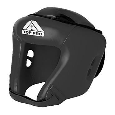 Top Pro Boxing Training Headguards | Black