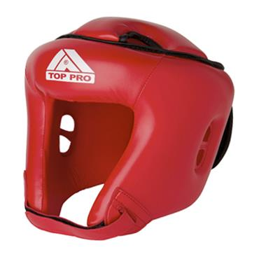 Top Pro Boxing Training Headguards | Red