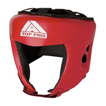 Top Pro Boxing Headguard | Red