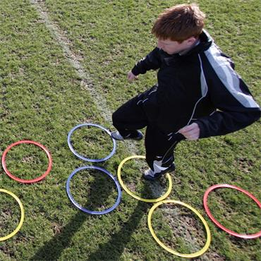 Precision Training Speed Agility Hoops